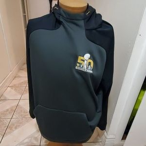 Nike thermal fit hoodie superbowl 50